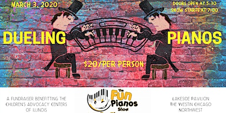 Dueling Pianos - Children's Advocacy Centers of Illinois CofC20 tickets