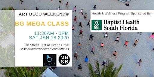 The BodGuru Mega Class @ Art Deco Weekend  2020