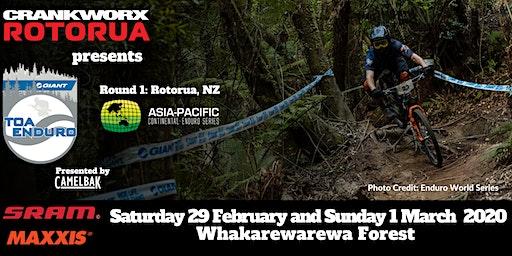 Crankworx Rotorua Giant Toa Enduro presented by Camelbak