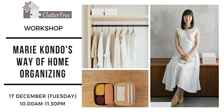 "Workshop ""Marie Kondo's Way of Home Organizing"" tickets"