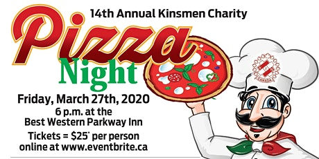 Kinsmen Pizza Party tickets