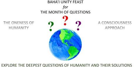 Baha'i Unity Feast tickets