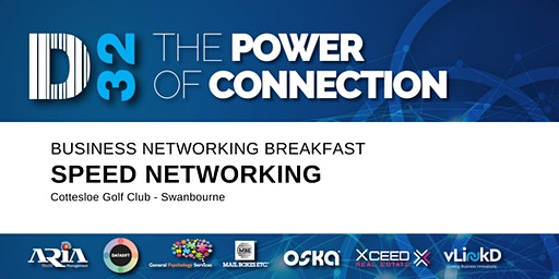District32 Business Speed Networking - Fri 21st Feb