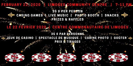 Soriée Casino Limoges Casino Night tickets