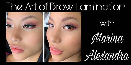 Brow Lamination Certification with Full Kit workshop course class training