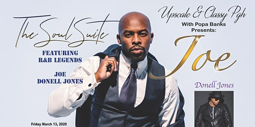 Upscale & Classy PGH Featuring R&B Legends Joe & Donell Jones