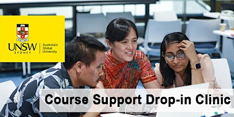 Course Support Drop-in Clinic - hosted by CVEN tickets