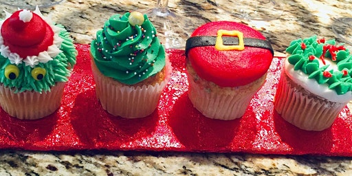 Family Holiday Cupcake Decorating (Adult and Child)