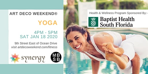 Yoga @ Art Deco Weekend 2020 with Synergy