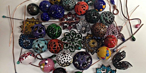 Torch-Fired Immersion Enameling: Beads, Beads, Beads