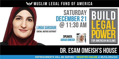 Build Legal Power for American Muslims with Linda Sarsour - Fairfax, VA tickets