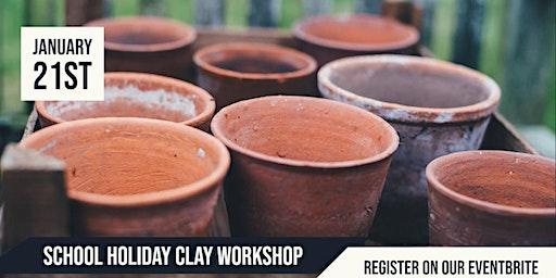 Mitchell Park School Holiday Clay Workshop