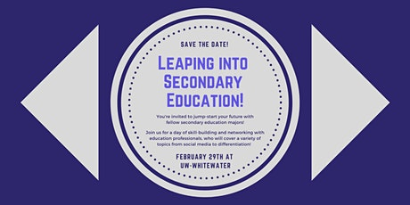 Leaping Into Secondary Education Conference tickets