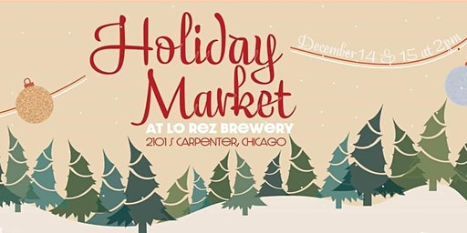 Holiday Market at Lo Rez Brewery