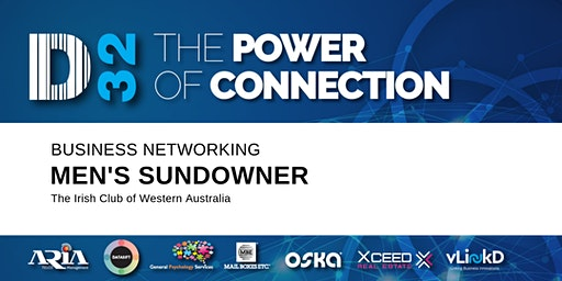 District32 Men's Business Networking Sundowner - Thu 27th Feb