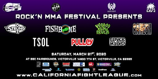 California Fight League  XVI - Rock'n MMA Festival