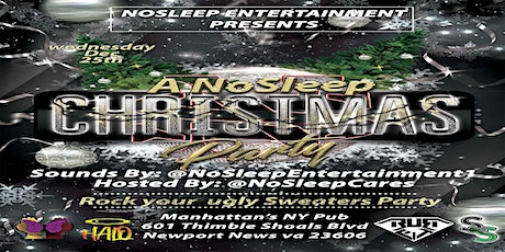 NoSleep Christmas Party {ugly sweater party} tickets