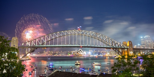 New Year's Eve Dinner with Harbour Bridge Views