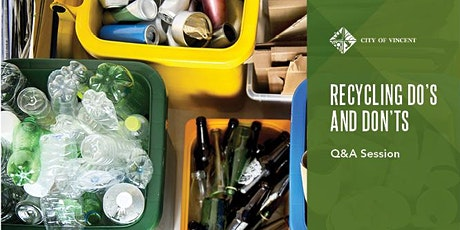 Recycling Do's and Don'ts - Q&A Session tickets