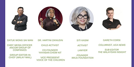 Malaysia Launch: Journalism For An Equitable Asia Award 2019 tickets