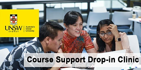 Course Support Drop-in Clinic - hosted by MECH tickets