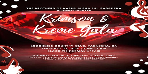 Krimson & Kreme Formal Gala