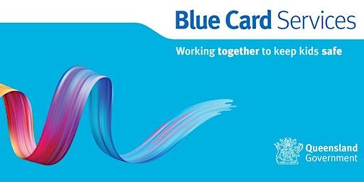 Blue Card Information Session: Gladstone Yacht Club