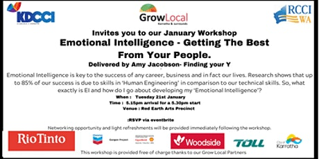 Grow Local Program -  Emotional Intelligence tickets