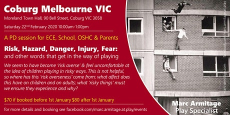 Risky Dodgy Dangerous Play - in Coburg, Melbourne VIC tickets