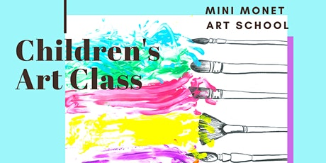 MINI MONET: Painting and Sensory tickets