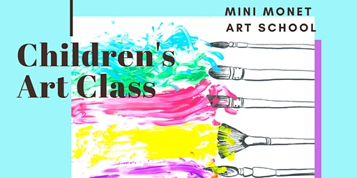 MINI MONET: Painting and Sensory