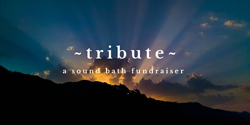 ~TRIBUTE~ An Honoring Sound Bath Benefit