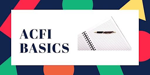 ACFI Basics
