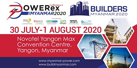 Powerex & Builders Myanmar 2020 tickets