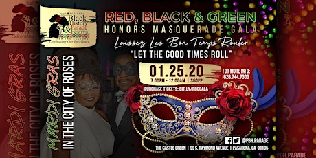 Red, Black & Green Honors Masquerade Gala tickets