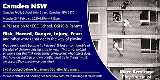 Risky Dodgy Dangerous Play - in Camden NSW