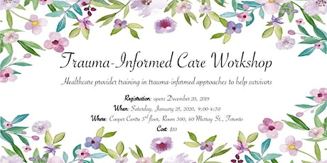 Trauma Informed Care Workshop '20 tickets