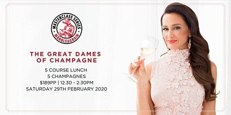 The Great Dames of Champagne tickets
