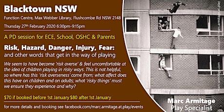 Risky Dodgy Dangerous Play - in Blacktown NSW tickets