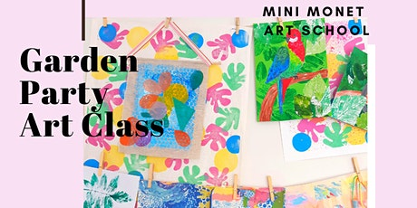 MINI MONET: Garden Theme Children's Art Workshop tickets