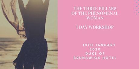 The Three Pillars of the Phenomenal Woman Workshop tickets