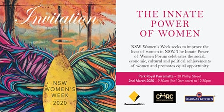 The Innate Power of Women Forum tickets