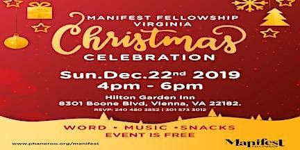 Manifest Fellowship Virginia Christmas Celebration