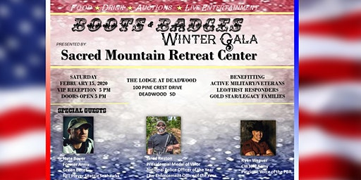 Sacred Mountain Retreat 2020 Winter Gala