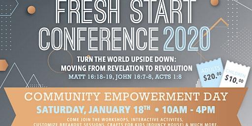 Fresh Start Conference 2020
