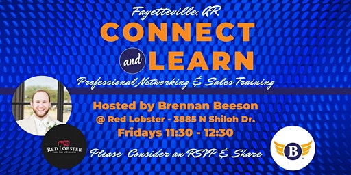 Fayetteville, AR: Connect & Learn | Professional Networking & Sales Training