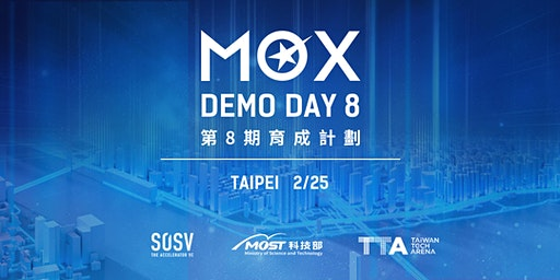 MOX 8 Demo Day: Taipei