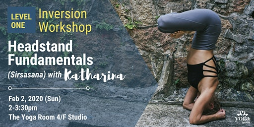 Inversion Workshop Level 1: Headstand Fundamentals (Sirsasana) with Kat