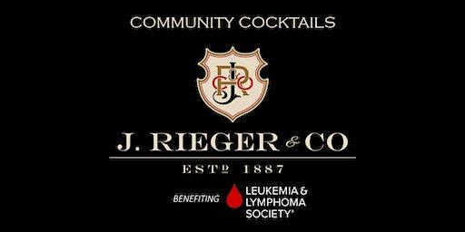 Community Cocktails at J. Rieger & Co.