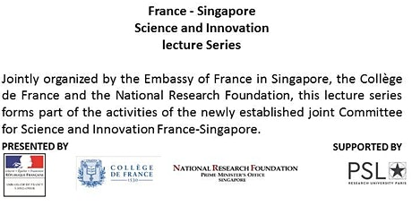 France - Singapore Science and Innovation lecture Serie tickets